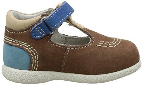 Kickers Babyfresh, Chaussures Premiers pas Bébé Garçon Beige (Beige Foncé Bleu)