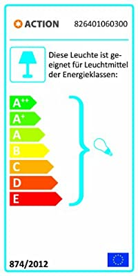 Wofi Tischleuchte, 1-flammig, ø 30 cm, weiß 826401060300 von WOFI LEUCHTEN bei Lampenhans.de