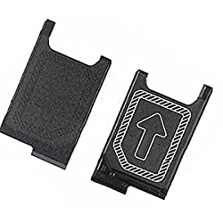 Mmobiel Nano Sim Card Tray Holder Slot Replacement For Sony Xperia Z3z3 Compactz5 Compact Mini D6603 D6653 D5833 Und Z5 E5823 E5803 (Black)