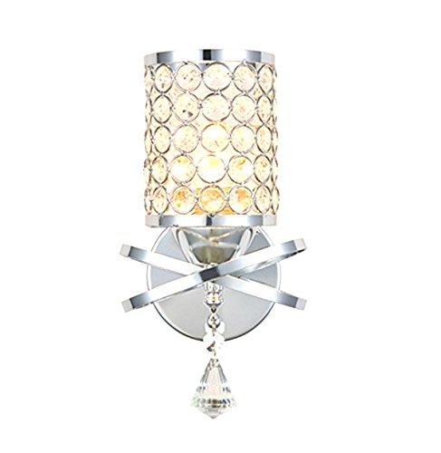 Lampe murale Lampe murale contemporaine simple en cristal simple Lampe murale LED Lampe sur le lit Éclairage intérieur (Couleur : B)