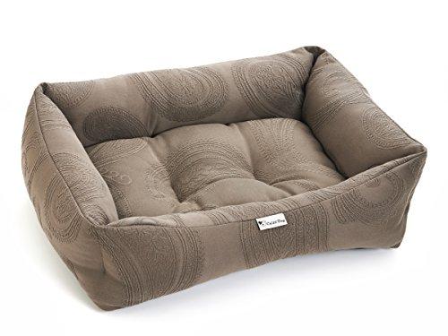 Mokka Cord (Chilli Hund Mokka Swirl Braun waschbar Hund & Katze Bed Medium & Large)