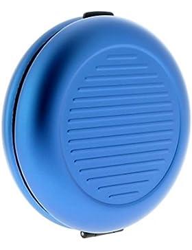 Monedero euro de monedas azul aluminio anodizado ögon Designs CD-Blue