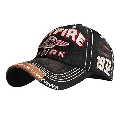 2019 Mode Baseball Cap Fitted Kappe für Herren Damen Mütze,Saingace Hat Basecap Stretchkappe Stretch Mit Besticken Logo Uni Fitted Cap