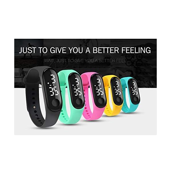 Homyl Smartwatch Mujer Android/Relojes Mujer Inteligente/Pantalla a Color IPS De 0,96 Pulgadas/Resistente Al Agua: IP67 4