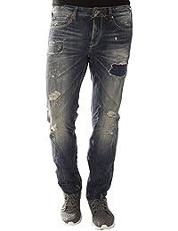 Japan Rags - Jeans - Homme Bleu Bleu