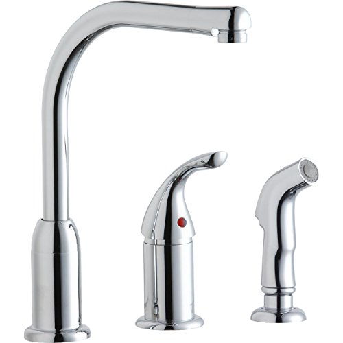 Elkay LK3001CR Chrome Everyday Single-Remote Lever Kitchen Faucet by Elkay (Chrome Remote)