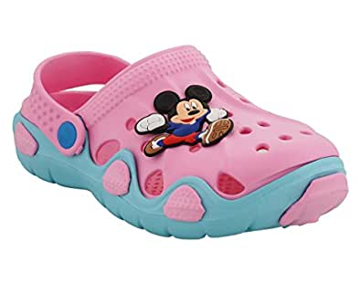 Lil Firestar Baby Kids Unisex Eva Sandals Shoes Clogs_(9 Months to 12 Months)_Pink_2CUK/20EU
