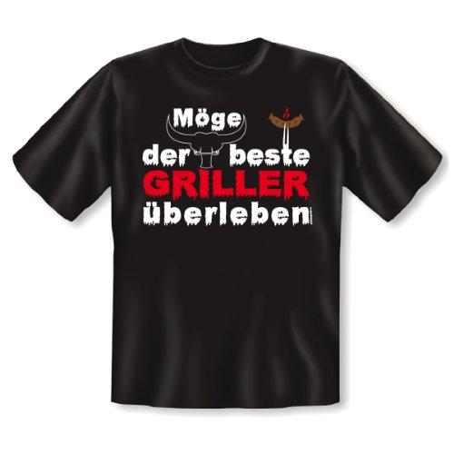 T-Shirt Schwarz Bester Griller