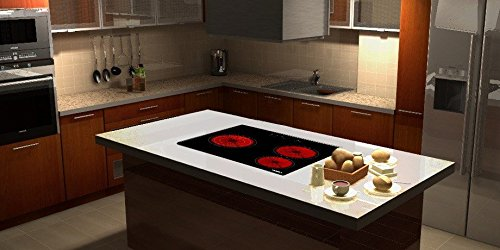 Viesta c3z placa de cocina vitrocer mica con protecci n for Cocina con vitroceramica