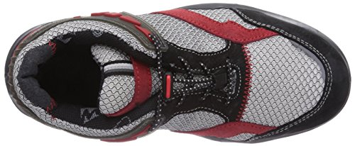 MTS Sicherheitsschuhe My Energy Spicy Energy S1P Flex 49910, Unisex-Erwachsene Sicherheitsschuhe Rot (rot/grau/schwarz)