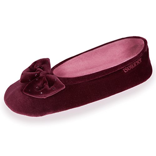 chaussons-ballerines-femme-isotoner-39-40