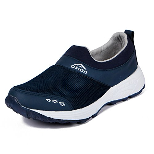 6. Asian shoes Future-04 BLUE Canvas Men Shoes
