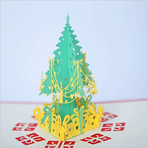 Auguri Di Natale 3d.Superior Lifes Biglietto Di Auguri Di Natale 3d Stereo Greeting Card