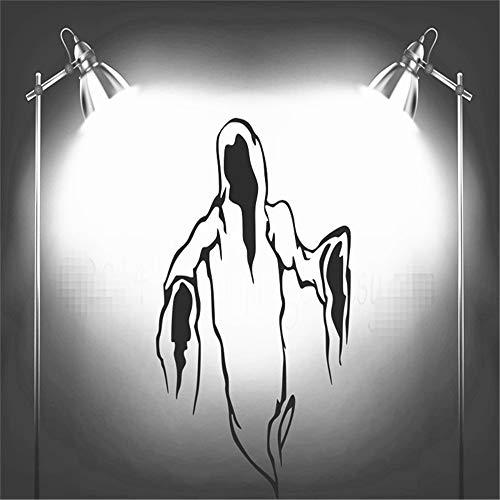 Wandtattoo Wohnzimmer Happy Halloween Ghost Reaper Silhouette Wohnzimmer Carving Aufkleber für Urlaub party Home Fenster Dekoration (Halloween-karte Sprüchen Mit Happy)