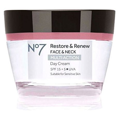 No7 Restore & Renew FACE & NECK MULTI ACTION Day Cream 50ml - Restore Day Cream