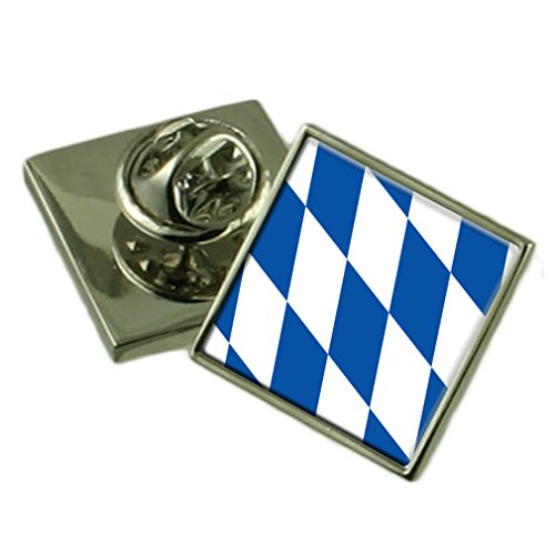 free-state-of-bavaria-flag-lapel-pin-badge-18mm-select-gift-pouch