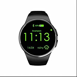 41DAkk4I gL. SS300  - Smart Sleep Monitor, Sport Watch,Heart Rate Monitor,Pedometer,Call and Message Vibration,Simple Design Classic Fashion smart watch,Date Display for Outdoor Running Walking Updated Version