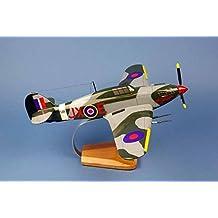 Hurricane MK.IIC - K.M Kuttlewascher N°1 Sqn RAF - Modelo grande de la colección de avión