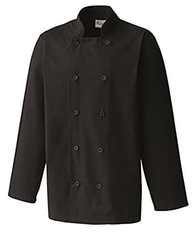 Premier Chef's Jacket Black 3XL
