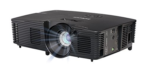 InFocus IN119HDXA 16:9 Full HD 3D DLP-Projektor Beamer (1080p, 1.3X Optischer Zoom, 3600 ANSI Lumen, 28000:1 Kontrast, 2X HDMI BrilliantColor) Schwarz Infocus Data Projector