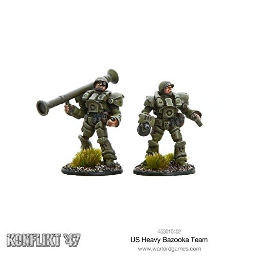Konflikt 47 German Heavy Panzerschreck Team Blister Metal