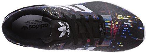 adidas ZX Flux W, Bottes Classiques Femme - noir