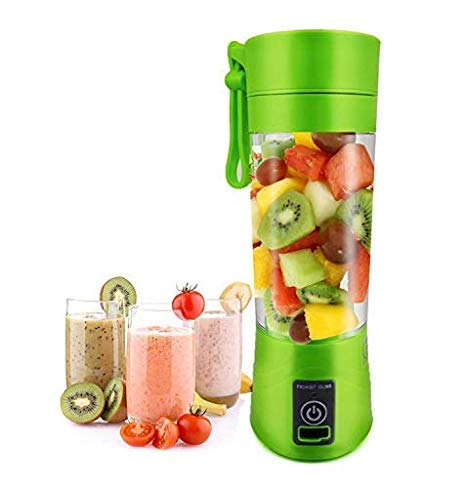 Ekta Impex Portable USB Juicer Bottle Blender (Multicolour)