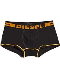 DIESEL - - Homme - Boxer Hero Noir Liseret Bleu Orange pour homme