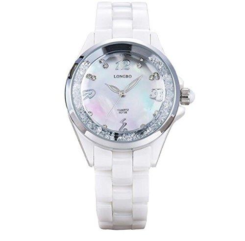 XXFFH Reloj Casual Digital Mecánica Solar Diamantes De Imitación De Temperamento Móviles Relojes , A