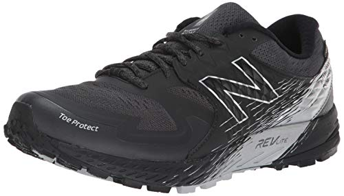 New Balance Summit KOM Gore-Tex, Scarpe da Trail Running Uomo, Nero (Black/Magnet GT), 44.5 EU