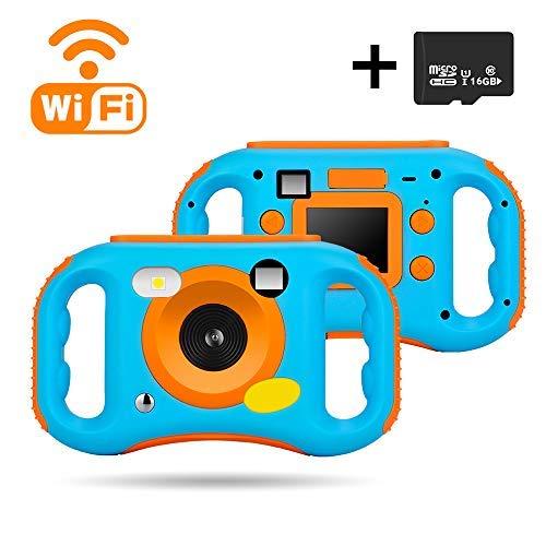 iBosi Cheng Kinder Spielzeug Kamera, WiFi Digital Kamera für Kinder Kinderkamera Farbdisplay Mini Camcorder Camera, Spielzeug und Geschenk für Kinder