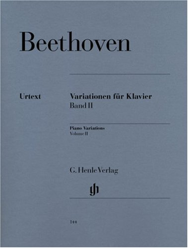 Variations Volume 2 - Piano