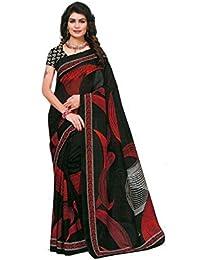 Manasvi Women Silk Saree With Blouse Piece Latest Party Wear Saree