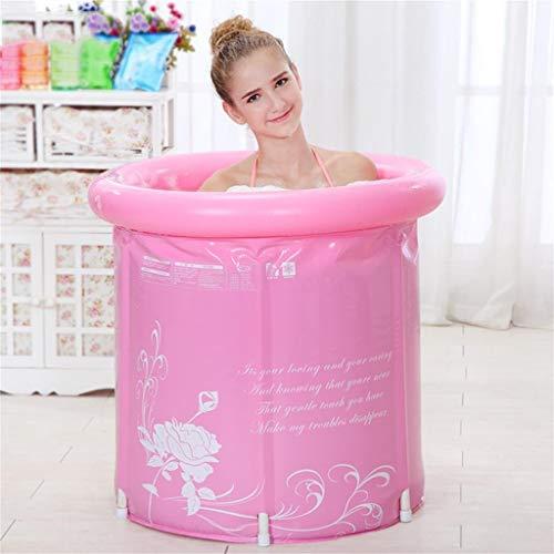 Relaxbx Dickere wassersparende badewanne Erwachsene badewanne aufblasbare wanne Schlauch Barrel Bad Barrel (Farbe: Nicht enthalten Deckel, größe: 70 * 70 cm) -