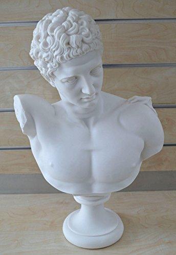 Hermes Skulptur Antike Griechische Gott Leiter von Seelen in der Afterlife Grand Büste Statue (Hermes-bote)