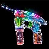 Pistola a batterie spara-bolle di sapone | Con luci LED intermittenti | Giochi all'aperto per bambini bolle | Liquido INCLUSO ! by TrendingTemple immagine