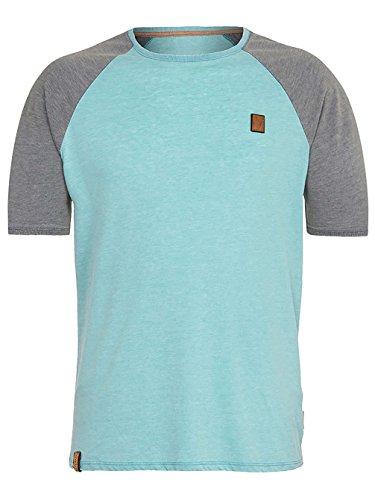 Naketano Male T-Shirt The Kumite heritage fresh blue/dark
