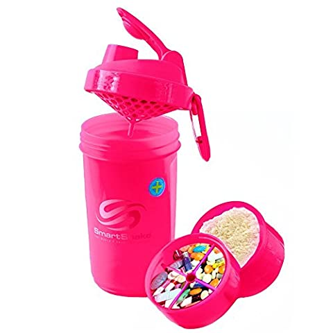 SmartShake Original Serie Pink (400ml)–Shaker Cup, NEU