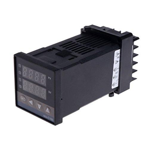 Qiman RKC REX-C100 REX-C100FK02-V * Einer der SSR-Ausgang Pid Digitaler Temperaturregler Thermostat 0 - 400 Grad Typ K Eingang