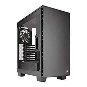 Corsair Carbide Clear 400C Case per PC Mid-Tower, ATX/mATX, Ventola da 12 cm, Nero