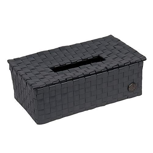 Luzzi Tissue box dark grey -