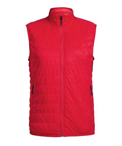 Icebreaker Hyperia Lite Vest Men - Outdoorweste rocket red