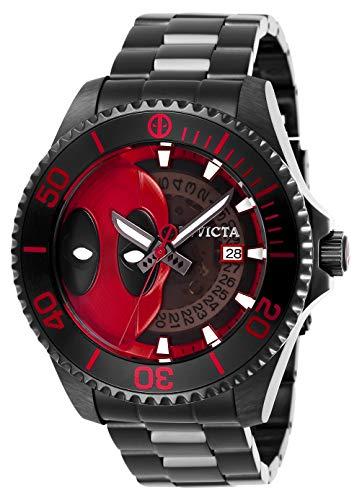 Invicta Marvel Herren-Armbanduhr Armband Edelstahl + Gehäuse Automatik 27153