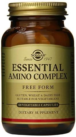 Solgar Essential Amino Complex Vegetable Capsules, 60 V
