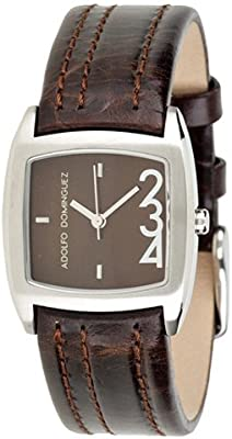 Adolfo Dominguez Watches 69021 - Reloj de Señora movimiento de cuarzo con correa de piel Verde