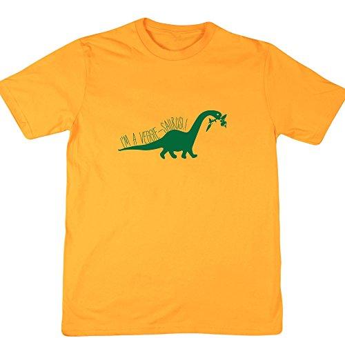 HippoWarehouse Herren T-Shirt Gr. xxl, Gelb - Gold (Tree Gelben Hugger T-shirt)
