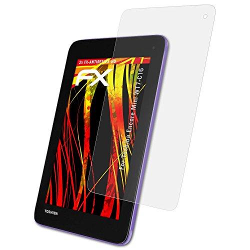 atFolix Schutzfolie kompatibel mit Toshiba Encore Mini WT7-C16 Bildschirmschutzfolie, HD-Entspiegelung FX Folie (2X)