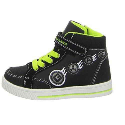 Sneakers 55.453.0.4.127130 55.453.0.4.127130 Jungen Schlupf/Klettstiefelette Kaltfutter Schwarz (Schwarz)