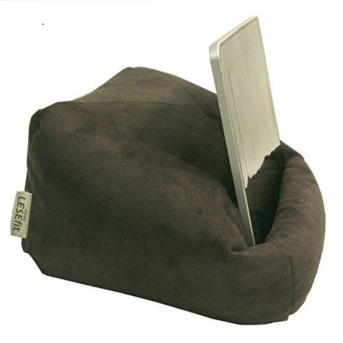 LESEfit Soft antirutsch Tablet Halterung für Bett & Couch, Lesekissen kompatibel mit iPad * Buch &...