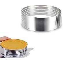 JOYOOO Molde para tartas( tamaño ajustable de 15 - 20 cm)